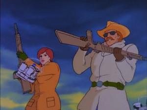 Covergirl and Wild Bill Sunbow G.I.Joe cartoon series