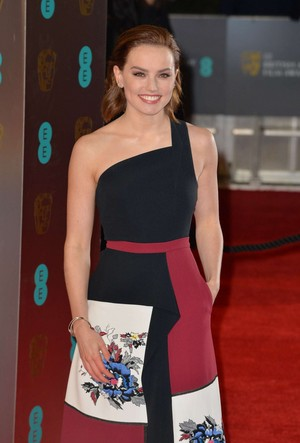 Daisy at the 2017 BAFTAS