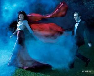 Dan Stevens and Michelle Dockery