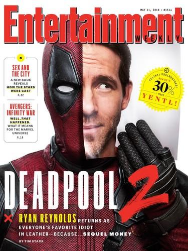 Deadpool (2016) wallpaper entitled Deadpool 2 Entertainment Weekly Cover