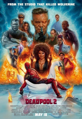Deadpool (2016) fondo de pantalla titled Deadpool 2 Poster