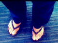 Debbie's Flip Flops - the-debra-glenn-osmond-fan-page photo