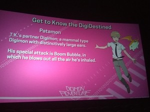 Digimon Adventure Tri Character Info