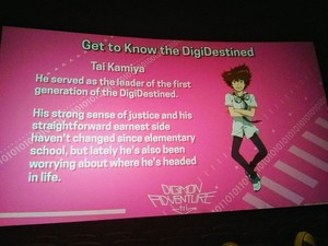 Digimon Adventure Tri Character Info