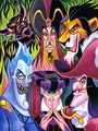Disney Villains - disney fan art