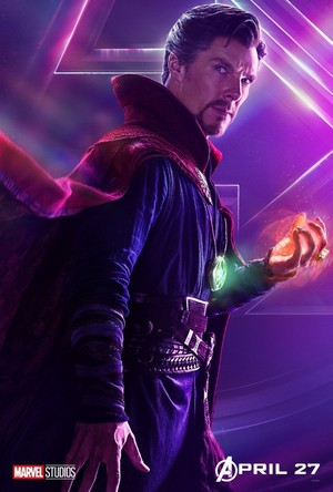 Dr Strange - Avengers Infinity War character poster