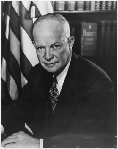 The Presidents of The United States fond d'écran titled Dwight D. Eisenhower