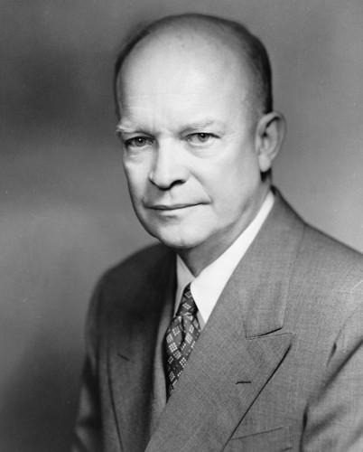 U.S. Republican Party 壁纸 titled Dwight D. Eisenhower