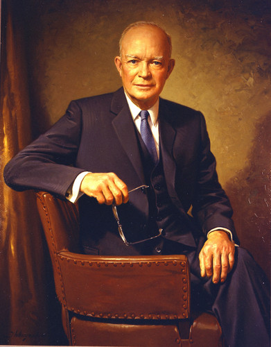 U.S. Republican Party 壁纸 titled Dwight D. Eisenhower