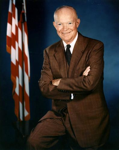U.S. Republican Party Hintergrund titled Dwight D. Eisenhower