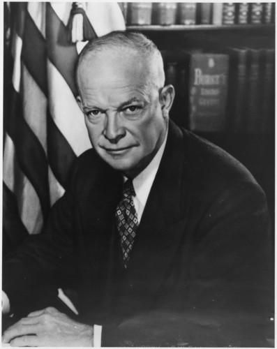 U.S. Republican Party Hintergrund entitled Dwight D. Eisenhower
