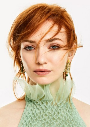 Eleanor Tomlinson for Vanity Fair