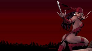Elektra wallpaper Above The City