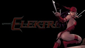 Elektra wallpaper In Black