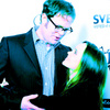 ellen page foto entitled Ellen and Rainn Wilson