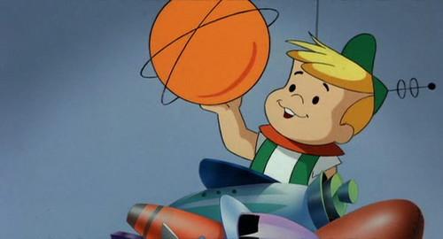 Hanna Barbera karatasi la kupamba ukuta entitled Elroy Jetson2
