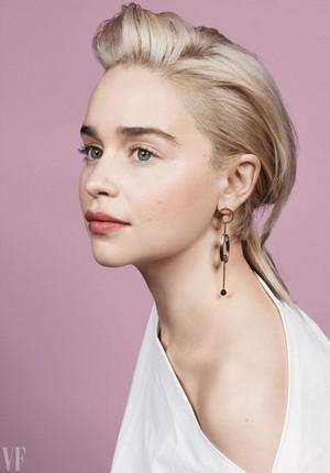 Emilia Clarke,VF magazine cover (2018)