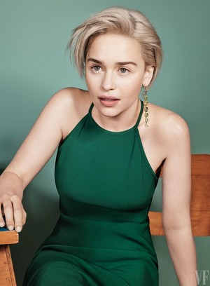 Emilia Clarke at Vanity Fair Photoshoot