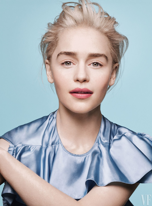 Emilia Clarke at Vanity Fair Photoshoot