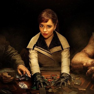 Emilia as Qi'ra in Solo A étoile, star Wars Story