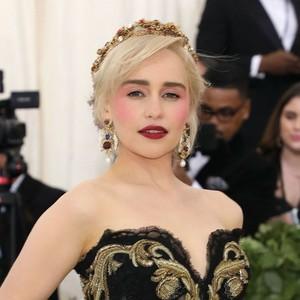 Emilia at 2018 Met Gala