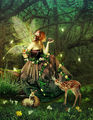Fairies Of The Forest - magical-creatures fan art