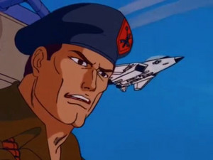 Flint Sunbow G.I.Joe cartoon series
