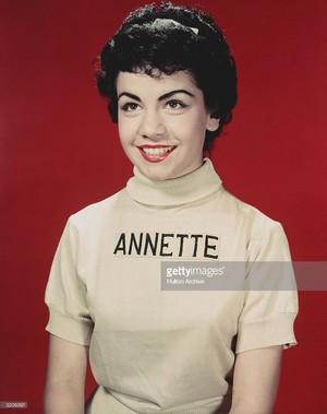Former Mouseketeer, Annette Funnicello