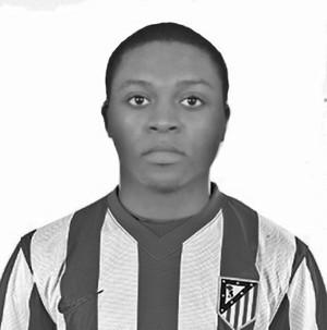 Gabriel Kunda Jr. Atletico Madrid B 08/09