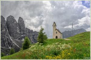 Gardena Pass, Italy