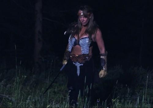 Frühere WWE-Diva… Debra Hintergrund titled Gathering of The Heroes - Debra the bad ass!