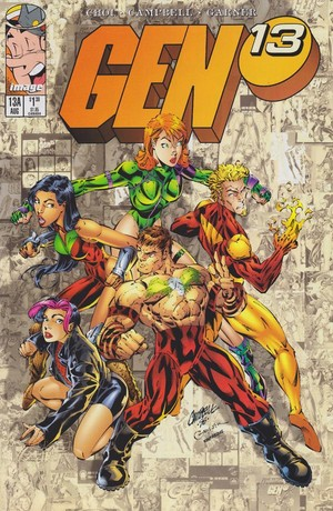 Gen 13 issue 13a cover