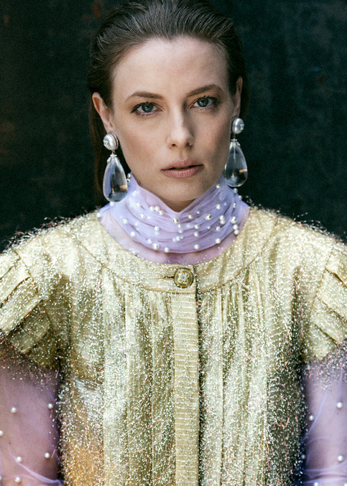 Gillian Jacobs for Interview Magazine