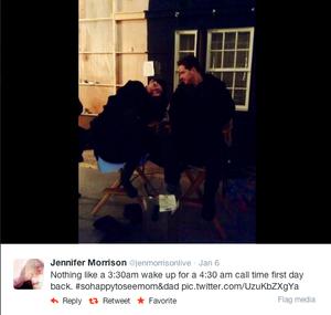 Ginny and Josh - Jennifer Morrison twitter