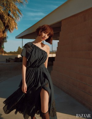 Go Joon Hee - Harper's Bazaar Magazine April Issue '18