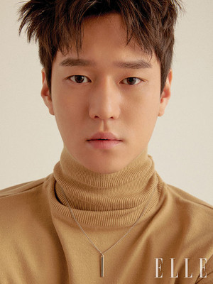 Go Kyung Pyo for ELLE's February 2018 Issue