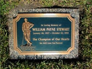 Gravesite Of Payne Stewart