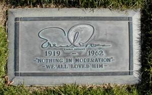 Gravesite Of Ernie Kovacs