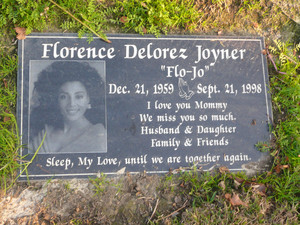Gravesite Of Florence Griffith-Joyner