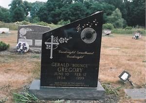 Gravesite Of Gerald Gregory