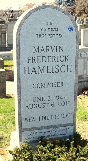Gravesite Of Marvin Hamlisch