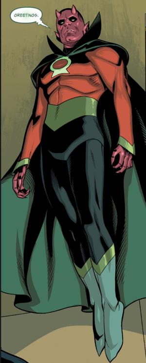 Green Lantern Justice Incarnate member