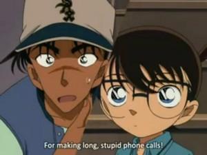 Heiji and Shinichi hattor
