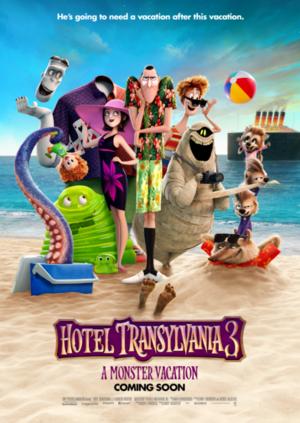 Hotel Transylvania 3 (poster)