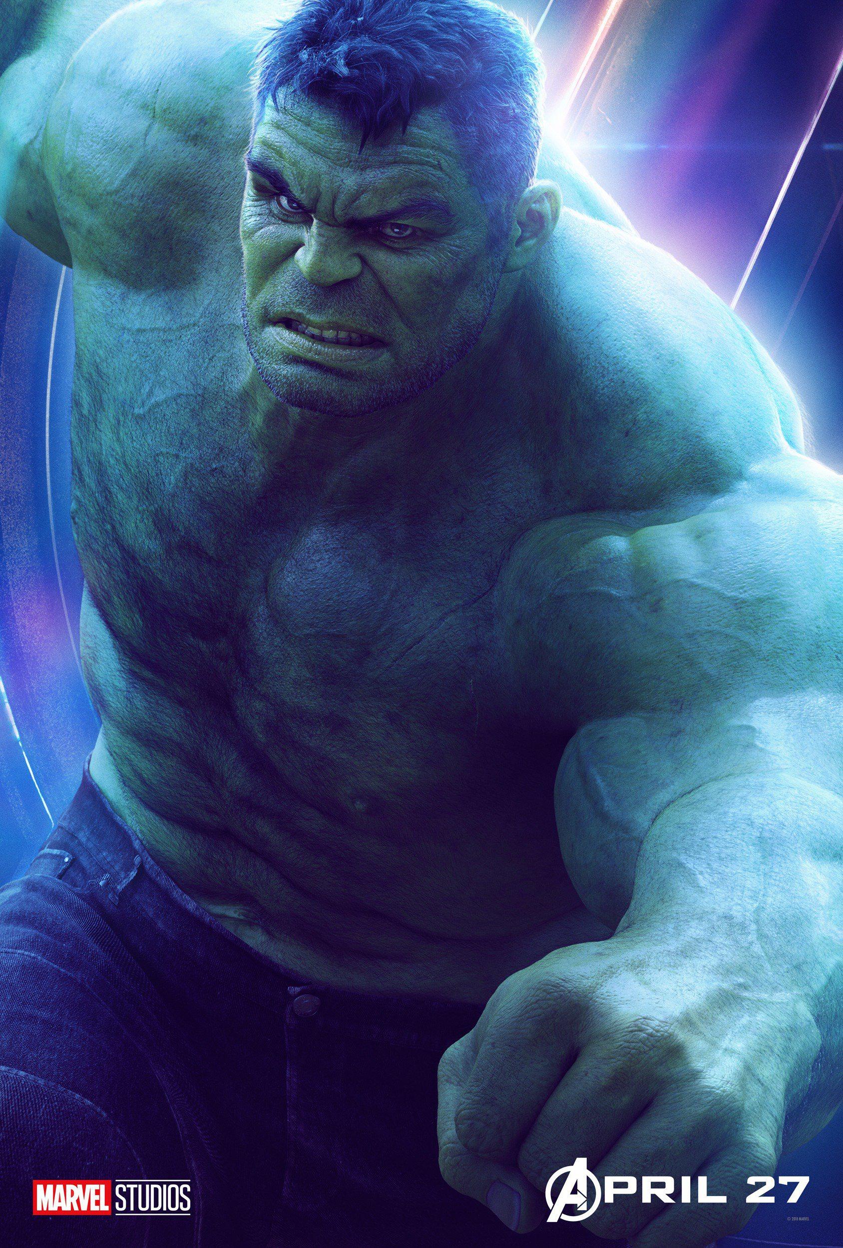 Hulk - Avengers Infinity War character poster - Avengers
