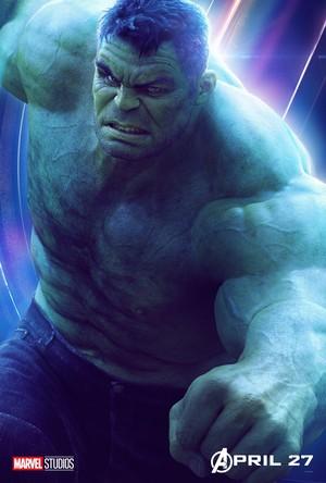 Hulk - Avengers Infinity War character poster