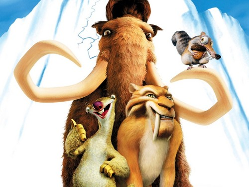 Ice Age Hintergrund titled Ice Age