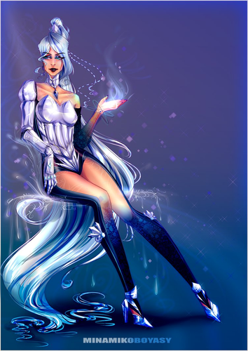 Winx Club fond d'écran called Icy: New Outfit