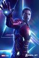 Iron Man - Avengers Infinity War character poster