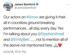 James Bamford's Stemily tweet